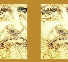 Leonardo da Vinci by MaviSchirripa