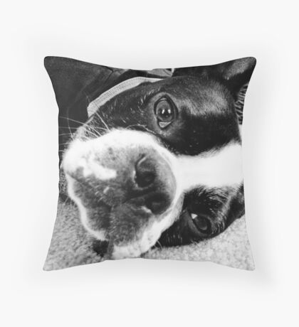 The Pete - Lazy Sunday Throw Pillow