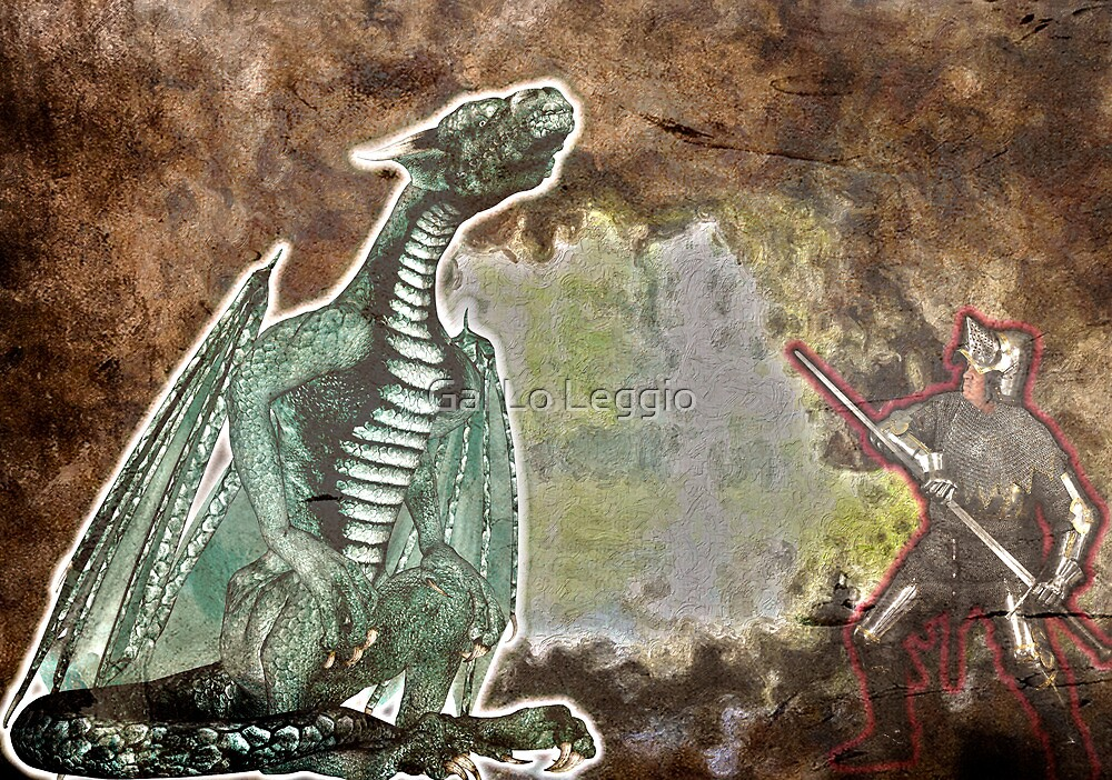 George and the Dragon by Gal Lo Leggio