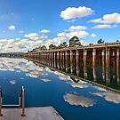 Port Augusta - Reflections by Georgie Sharp