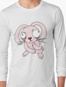 scared rabbit Long Sleeve T-Shirt