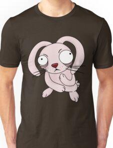 scared rabbit Unisex T-Shirt
