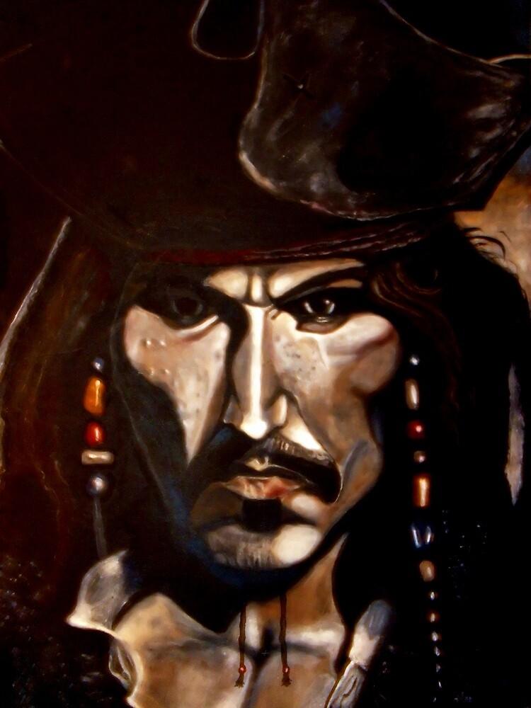Captain Jack Sparrow by Herbert Renard