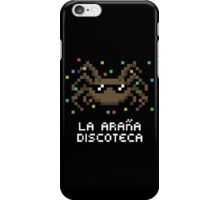 La Araña Discoteca - The Disco Spider iPhone Case/Skin