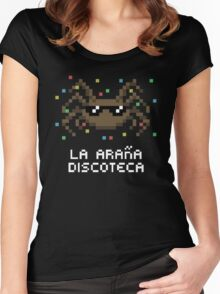 La Araña Discoteca - The Disco Spider Women's Fitted Scoop T-Shirt