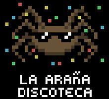 La Araña Discoteca - The Disco Spider by CraftyG