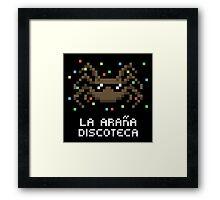 La Araña Discoteca - The Disco Spider Framed Print