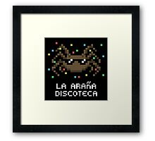 La Araña Discoteca - The Disco Spider Framed Print