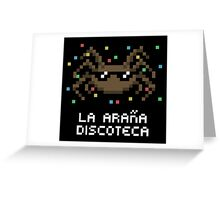 La Araña Discoteca - The Disco Spider Greeting Card