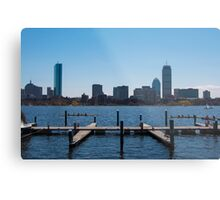 Boston Blue Metal Print