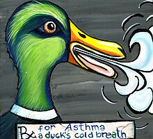 A Duck's Cold Breath by Missy Feigum