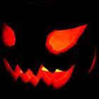 scary pumpkin by Jodie E