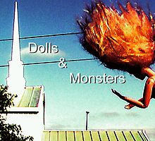 Dolls & Monsters Calender Cover by Margaret Bryant