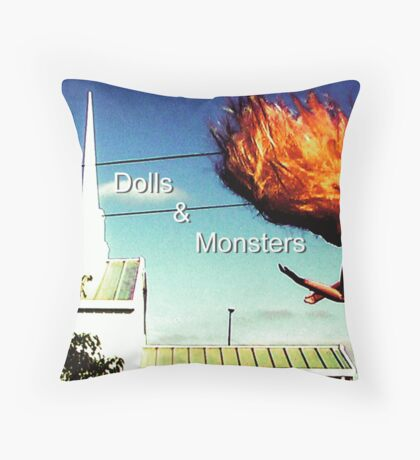 Dolls & Monsters Calender Cover Throw Pillow
