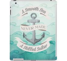 Smooth Sea Anchor iPad Case/Skin
