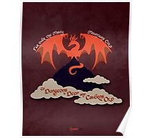 The Hobbit Illustration Poster