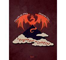 The Hobbit Illustration Photographic Print