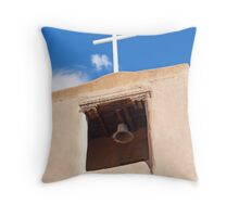 San Miguel Church Throw Pillow