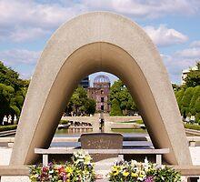 Hiroshima Peace Park by Matthew Pugh