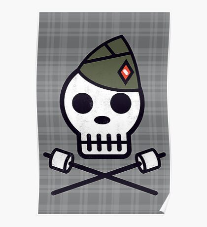 Skull Series SKULLSCOUT Poster