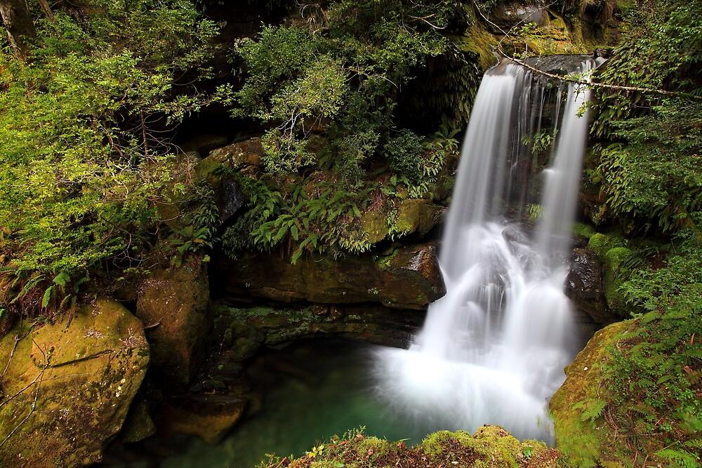 """Green Falls"" by Husky"