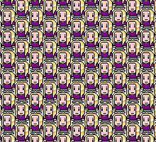 8-Bit Britta Perry by CraftyG