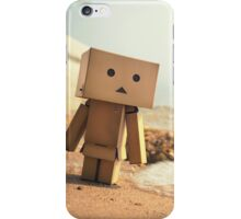 Danbo on the Beach iPhone Case/Skin