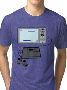 Pong TV Tri-blend T-Shirt