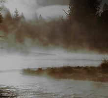 Early morning Mist, on the applegate by Ryan Whittaker