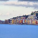 A View of Portovenere by Roland Pozo