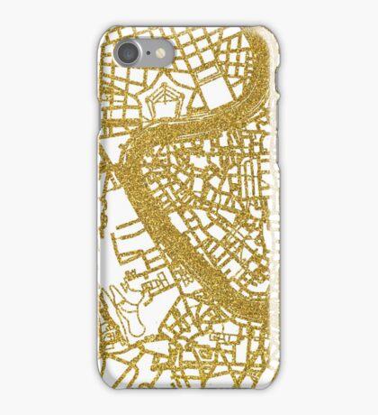 Rome map iPhone Case/Skin