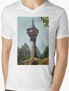 The Lost Tower Mens V-Neck T-Shirt