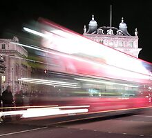 London Bus by Mark Langworthy