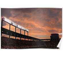 Oriole Park at Sunset Poster