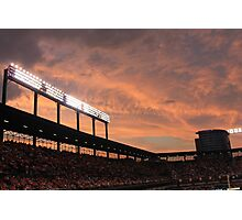 Oriole Park at Sunset Photographic Print