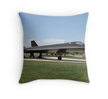 SR-71A Blackbird Throw Pillow