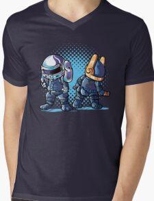 Daft Buns Mens V-Neck T-Shirt