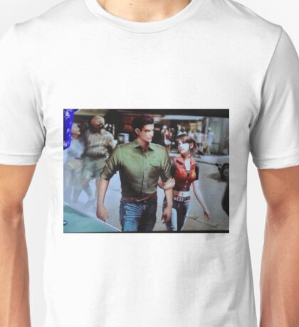 Chris and Claire Redfield. Unisex T-Shirt