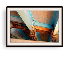"""Under the Bridge"" Canvas Print"