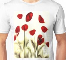 Abstract Flowers Oil Painting #3 Unisex T-Shirt