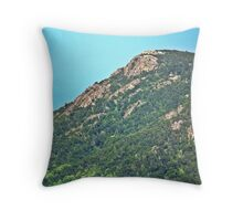 Old Rag -Sperryville, Virginia Throw Pillow