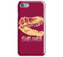 Tyrannosaurus Rex Skull iPhone Case/Skin