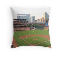 Oriole Park Throw Pillow