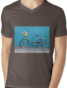 Antique Bicycle Mens V-Neck T-Shirt