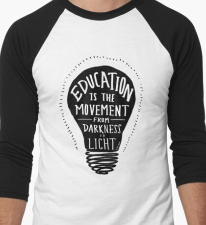 Education Men's Baseball ¾ T-Shirt
