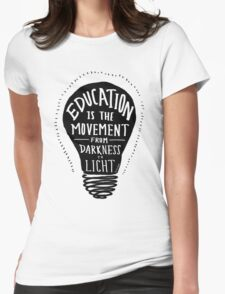 Education Womens Fitted T-Shirt