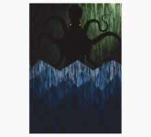 Cthulhu's sea of madness - Green Baby Tee