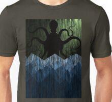 Cthulhu's sea of madness - Green Unisex T-Shirt