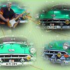 Chevy Bel Air -54 collage by Paola Svensson