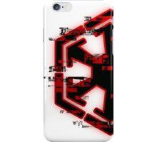 Glitched Sith Symbol iPhone Case/Skin